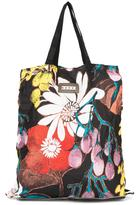 Marni convertible folding shopper tote - women - Silk/Leather - One Size