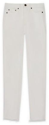 Saint Laurent Raw-Hem Straight Jeans