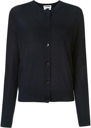 Jil Sander Buttoned Long-Sleeved Cardigan