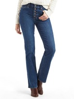 Gap AUTHENTIC 1969 perfect boot high rise jeans