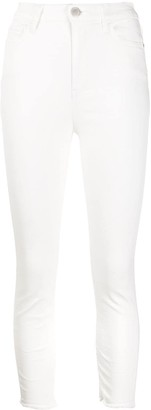 Pinko High Waisted Cropped Skinny Jeans