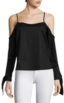 Lucca Couture Camilla Cotton Off the Shoulder Top