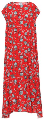 Vetements Floral-printed dress