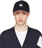 Moncler Navy Logo Baseball Cap