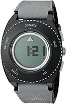 adidas 'Sprung' Quartz Plastic and Cloth Watch, Color:Grey (Model: ADP3251)