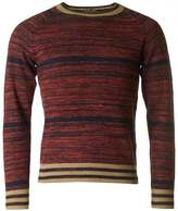 Dries Van Noten Naan Cuff Detail Crew Neck Knit