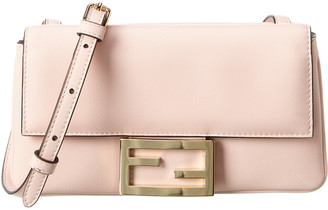 Fendi Ff Baguette Small Leather Crossbody