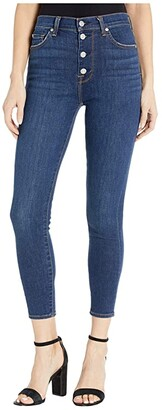 7 For All Mankind High-Waist Ankle Skinny in Fletcher Drive (Fletcher Drive) Women's Jeans