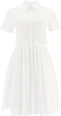 Alexander McQueen COTTON DRESS 38 White Cotton