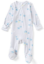 Angel Dear Baby Boys Newborn-6 Months Counting Sheep Footed Coverall