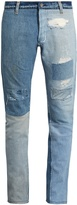 Longjourney T2 cotton-denim slim-leg jeans