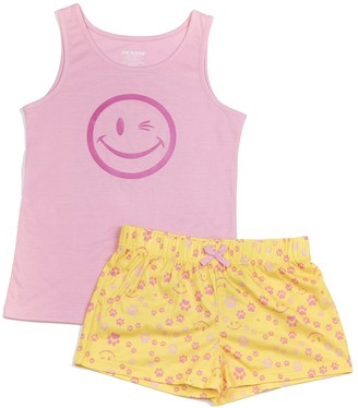Joe Boxer Big Girl's Paws PJ Set Sleepwear