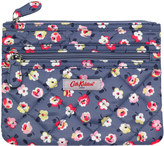 Cath Kidston Cotton Ditsy Polyester Quilted Double Zip Purse