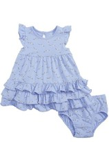 Infant Girl's Rosie Pope Seagulls Ruffle Dress