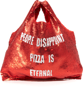 Mua Mua People Disappoint, Pizza Is Eternal Supermarket Bag