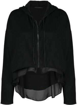 Kiki de Montparnasse Athleisure zip-up hoodie