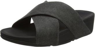 FitFlop Women's Lulu Cross Slide Sandals Open Toe
