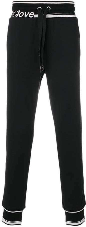 Dolce & Gabbana tDGLove track pants