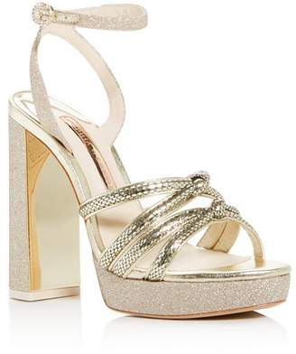 Sophia Webster Women's Freya Embellished Platform Sandals