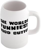 Fotomax Beer mug with THE WORLD'S FUNNIEST Wood Cutter
