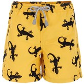 MC2 St Barth Flocked Lizard Swim Shorts