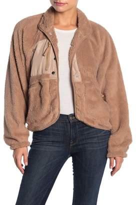 Dee Elly Fleece Raglan Sleeve Jacket