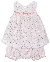 Petit Bateau Baby girl printed dress and bloomers