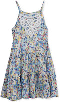 Rare Editions Floral-Print Sundress, Toddler and Little Girls (2T-6X)