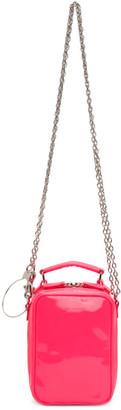Junya Watanabe Pink Steer Glass Glossy Bag