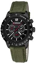 Wenger Unisex Watch 01.0853.110 ROADSTER BLACK NIGHT CHRONO