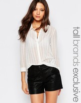 Y.A.S Tall Sheer Blouse