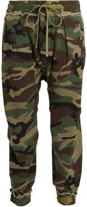 R 13 Camouflage Harem Sweatpants