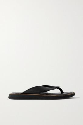 Rag & Bone Parker Leather Platform Flip Flops