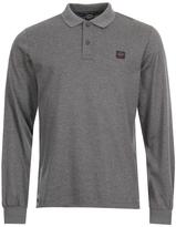 Paul & Shark Polo Shirt A17P1700SF 067 Long Sleeved Grey