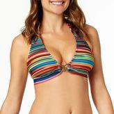 A.N.A a.n.a Mix & Match Striped Ombre Halter Swim Top