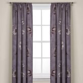 Kenneth Cole Reaction Home Night Floral Window Curtain Panel