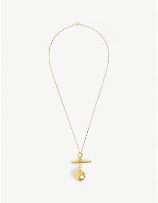 Bjorg door Of Perfection Necklace in Metallic (Pink) - Lyst