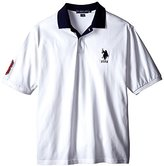 U.S. Polo Assn. Men's Big-Tall Solid Slim Fit Pique Polo Shirt
