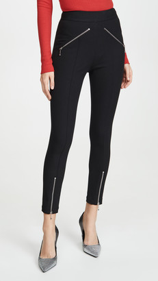Alexander Wang Super Stretch Pants with Ball Chain Puller