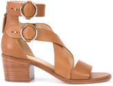 Rag & Bone cross strap sandals - women - Leather - 36