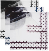 Massimo Alba - Set Of Three Printed Handkerchiefs