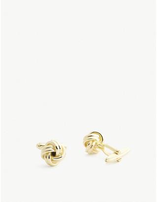 Lanvin Knotted cufflinks