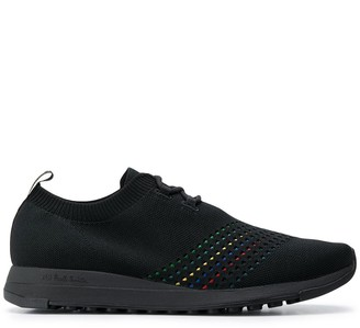 Paul Smith Knitted Logo Patch Detail Sneakers