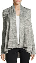 Vince Camuto Long-Sleeve Wrap Cardigan, Black