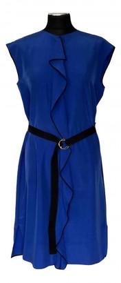 Louis Vuitton Blue Silk Dresses