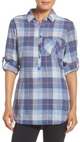 Columbia Women's 'Coral Springs' Plaid Cotton Shirt