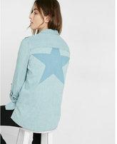 Express Star Back Boyfriend Shirt