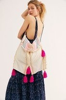 Free People Dalia Daydream Fabric Tote by Free People, White Multi, One Size