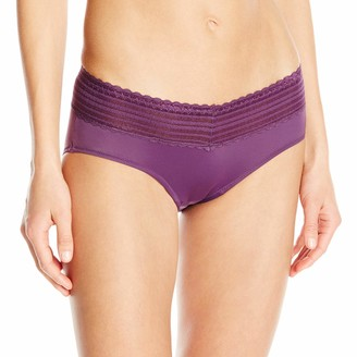 Olga Warners Women's No Pinching No Problems Lace Hipster Panty