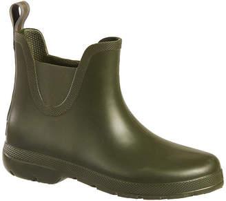 totes Womens Cirrus Ankle Rain Boots Waterproof Flat Heel
